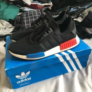 adidas NMD R1 OG Core Black/Lush Red Size 12